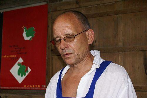 ラトビア共和国のザランスさん。