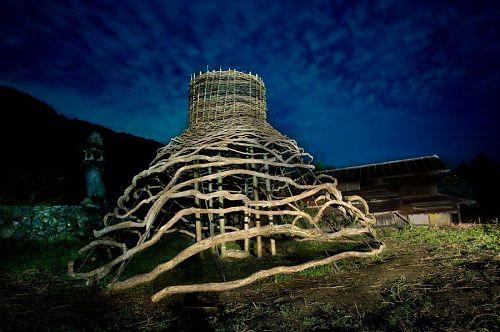 日没後のMoon dome
