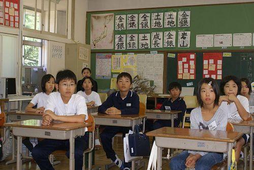 広野小学校は毎年5年生を対象に授業が行われます。
