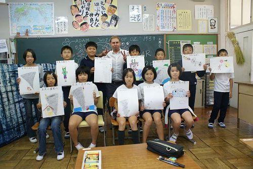 授業の締めくくりはみなさんで記念写真。