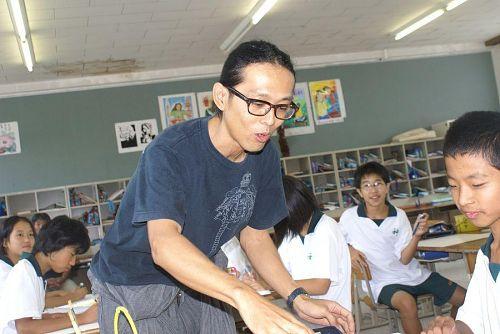 生徒たち一人一人に丁寧な指導をしました。