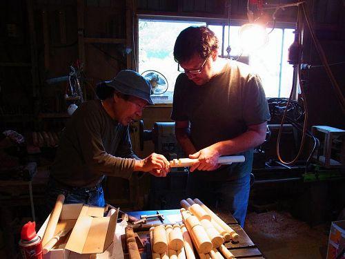 KAIR2011 Kevin Yates @Matsui-san's studio